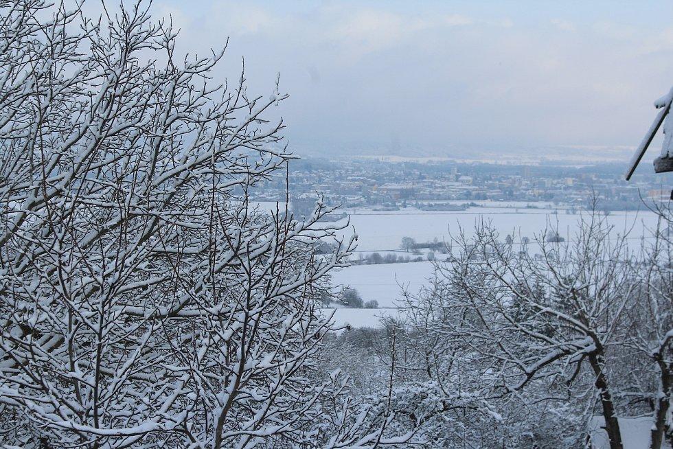 Zima se ukázala v plné kráse.