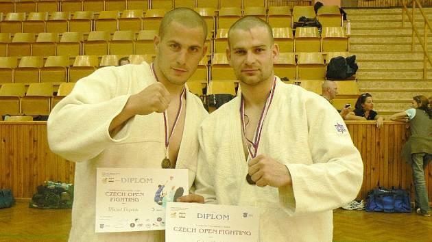 Michal Popelák a Lukáš Dudek reprezentují svůj klub.