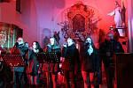 Charitativní koncert Miroslava Vobořila v Mlázovicích.
