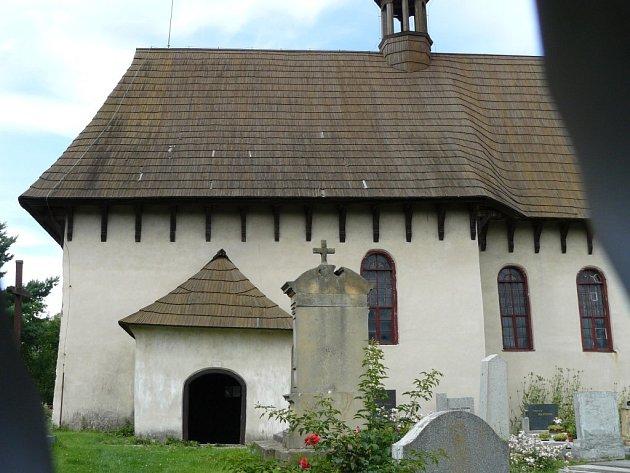 Kostel v Kozojedech a jeho současný stav.
