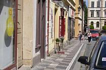 V jičínské Palackého ulici bylo přepadeno klenotnictví.
