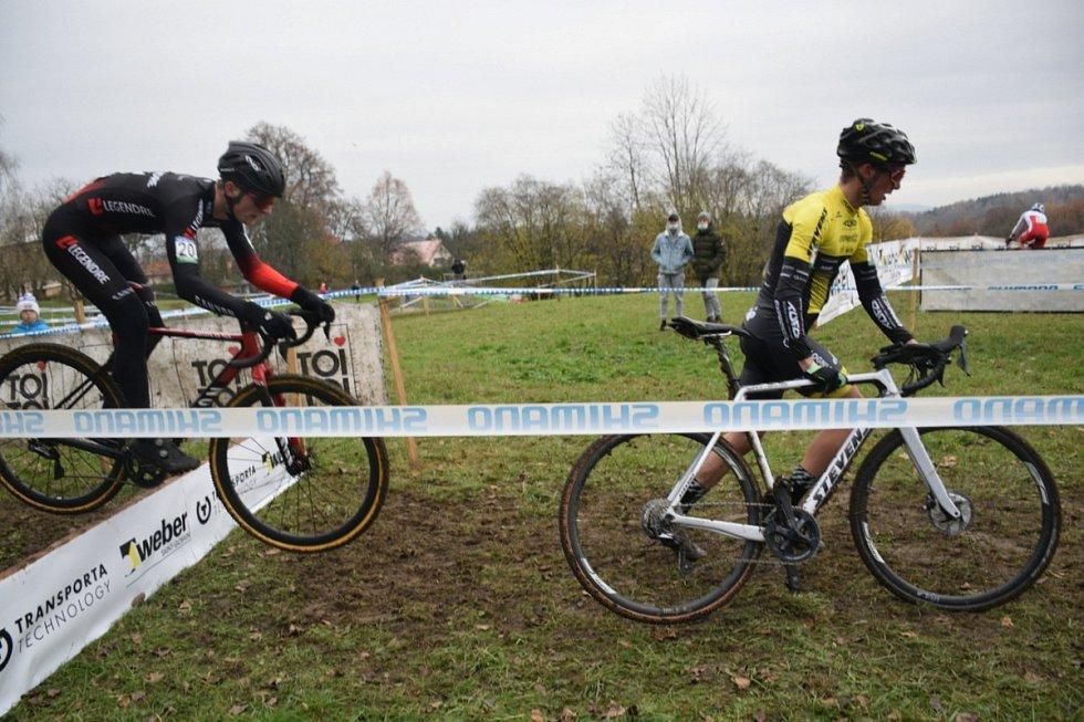 Cyklokrosové závody Toi Toi Cup v Jičíně.