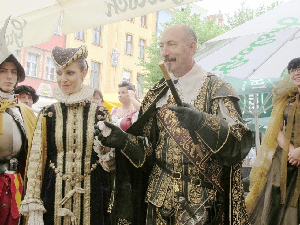 Valdštejnské slavnosti v polské Swidnici.