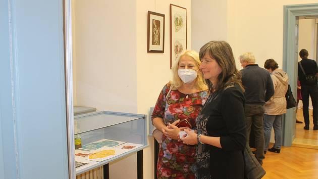 Výstava Petry Albrechtové a Věry Klucké.
