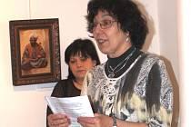Eva Šinkmanová, profesorka a novopacká výtvarnice.