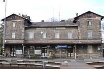 Ostroměřské nádraží.