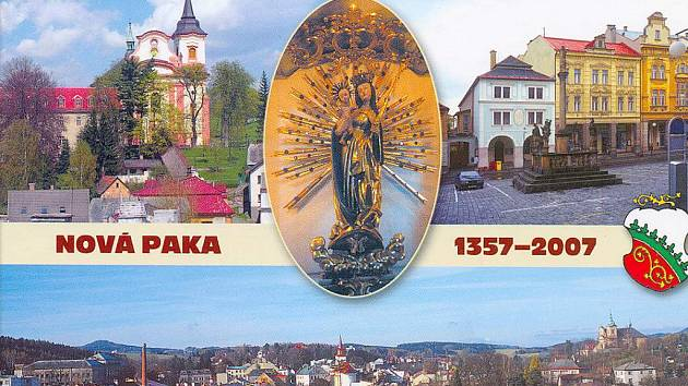 Nová pohlednice Nové Paky.