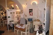 Jedna z výstav v lomnickém muzeu.