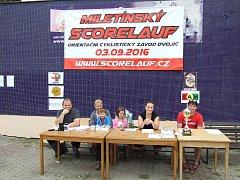 Miletínský scorelauf.