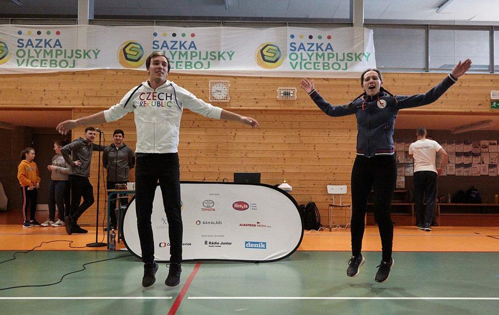 Olympijský víceboj zavítal do Nové Paky.