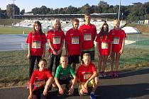 Žáci základní a mateřské školy Ostroměř na závodech v Brně, kde se představili ve velmi dobrém světle.