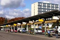 Autobusové nádraží v Jičíně