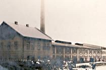 Popovická cihelna v roce 1929.