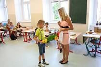 Poslední školní den v sobotecké škole.