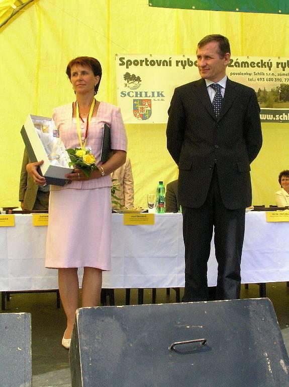 Eliška Formanová a Jiří Čunek.