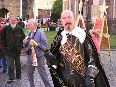 """Do """"svého"""" Jičína přijel i vévoda Albrecht z Valdštejna."""