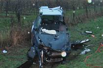 Vážná dopravní nehoda u Konecchlumí.