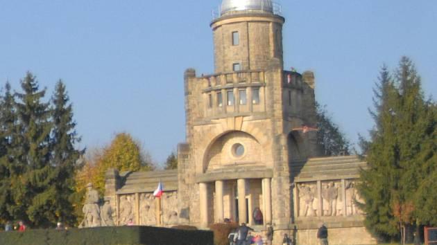 Hořická Masarykova věž samostatnosti.