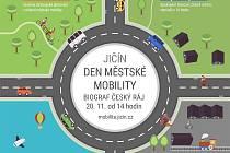 Jičínská pozvánka na Den mobility.