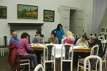 Ze setkání kronikářů v Porotním sále.