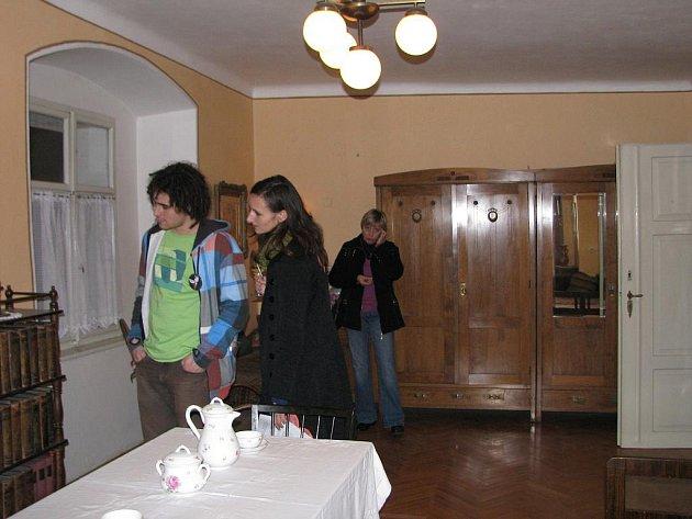 Výstava v soboteckém Šrámkově domě.