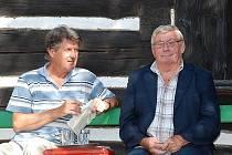 Jaroslav Suchánek (vpravo).