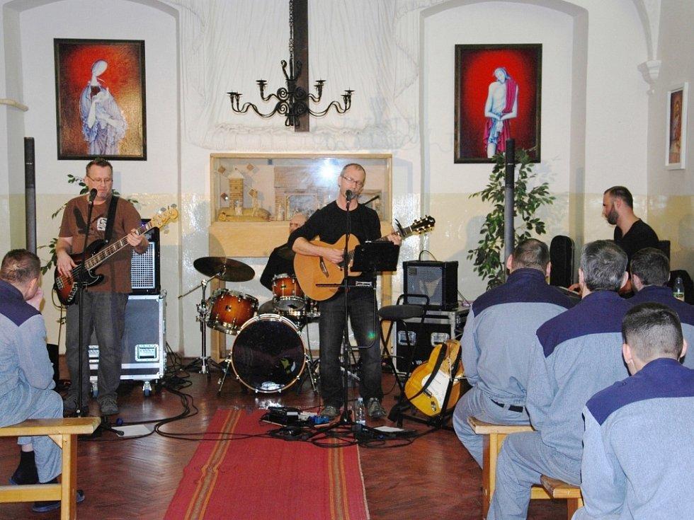 Vánoční koncert ve valdické věznici.