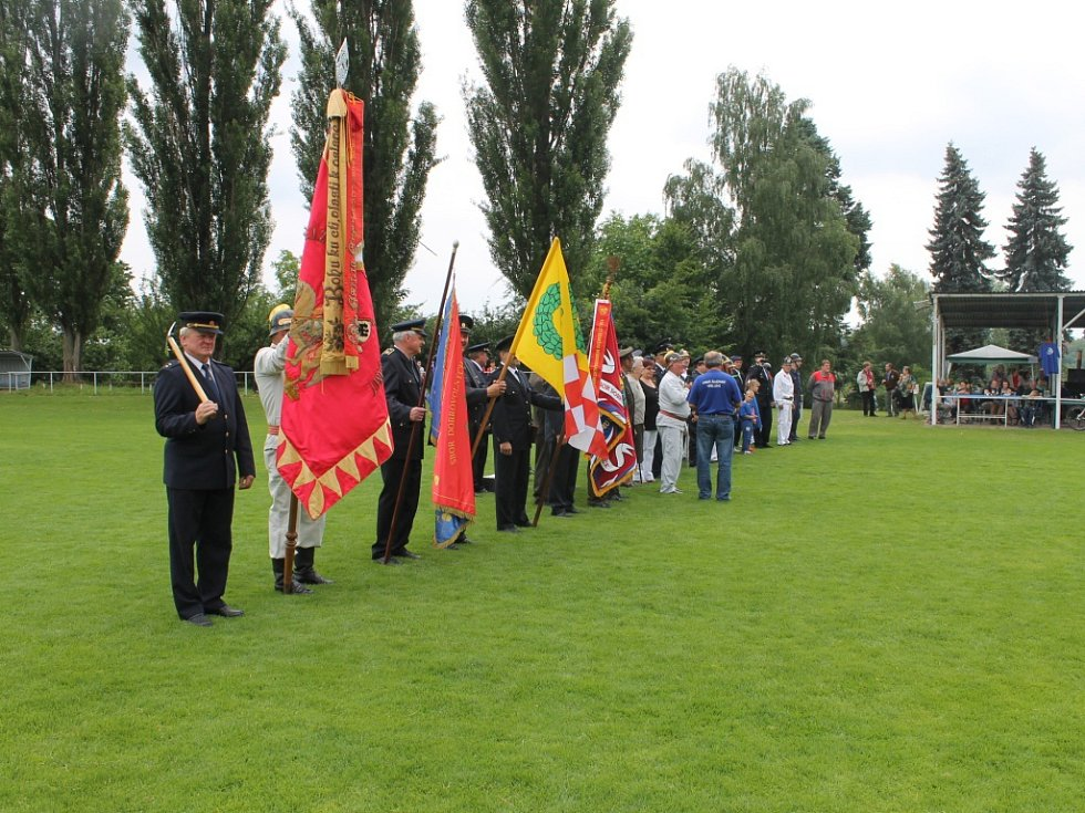 Železničtí hasiči slavili 130 let sboru.