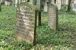 Z jičínského židovského hřbitova.