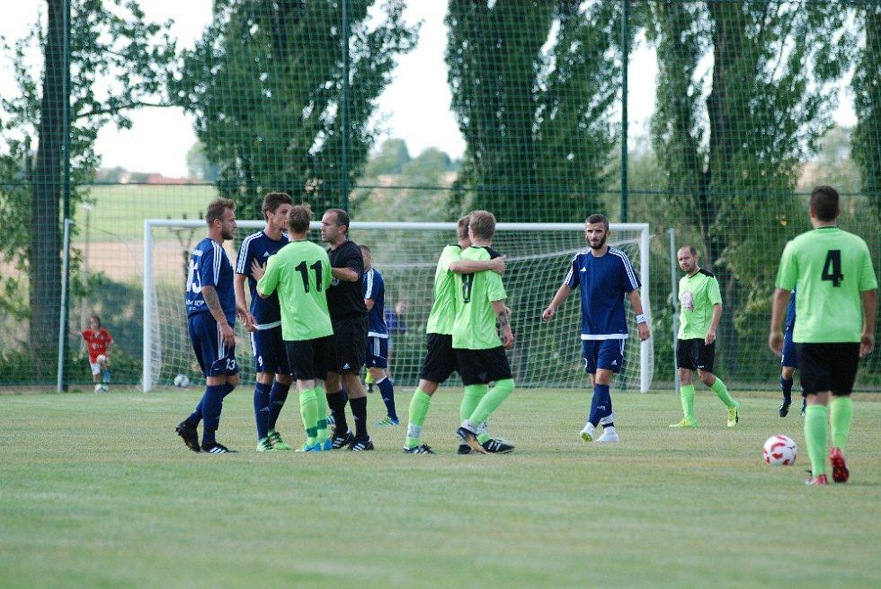 Krajský přebor ve fotbale: SK Sobotka - SK Dobruška.