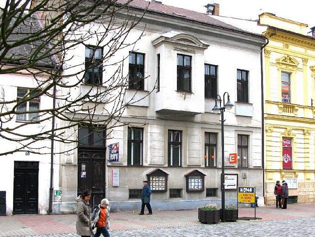 Sídlo redakce Jičínského deníku - Husova ulice č. 48.