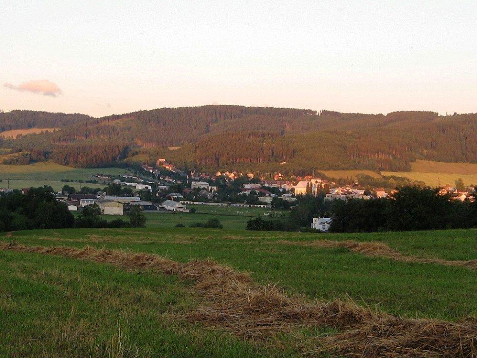 Město Albrechtice.