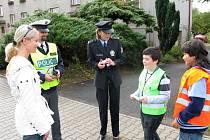 Z policejní akce Jezdíme s úsměvem.