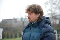 Z krajského přeboru do divize přivedl novopacké fotbalisty trenér Vlastimil Frýdek.