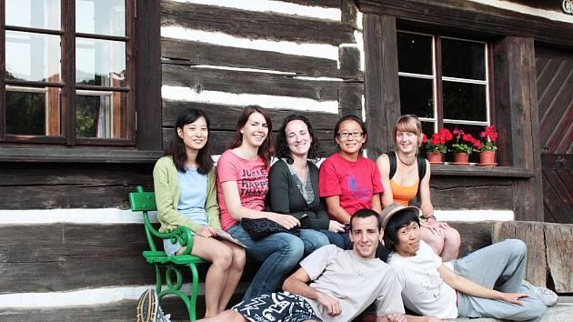 Dobrovolníci na výletě v Sobotce.