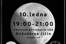 Částečné zatmění Měsíce můžete pozorovat i na jičínské hvězdárně.