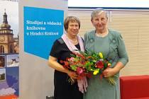 Dana Michlová (vlevo) s Jitkou Šidákovou.