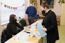 Krajské volby v Lázních Bělohradu.
