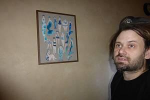 Valdštejnská lodžie, výstava obrazů Anny Mastníkové.