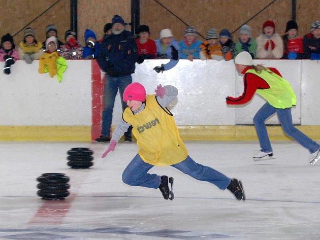 Olympiáda na ledě v Hronově.