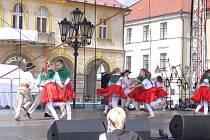 Polský folklorní soubor ze Swidnice.