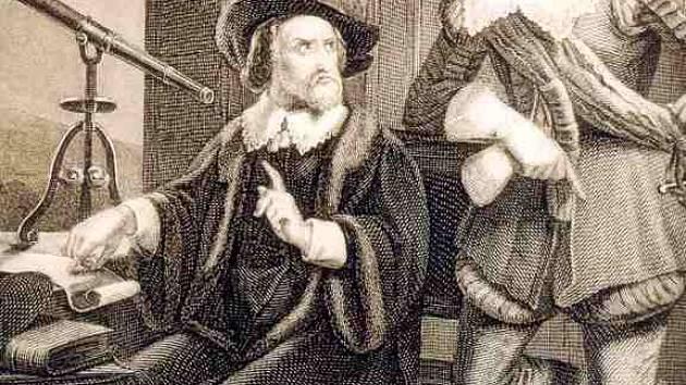 Vévoda Valdštejn se svým astrologem.