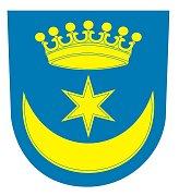 Znak obce Volanice.