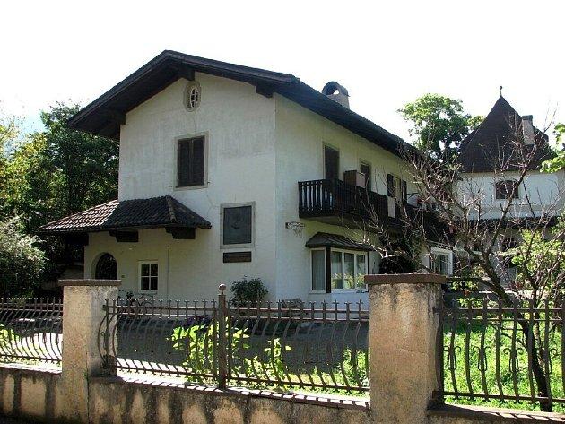 Dům v Brixenu, kde Karel Havlíček Borovský žil po většinu doby svého vyhnanství.