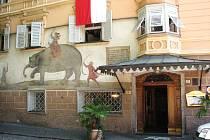 Hotel Elefant v Brixenu, kde se stravoval a dočasně i bydlel Karel Havlíček Borovský.