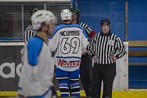 Inzultace rozhodčího v Lomnici předčasně ukončila duel místních hokejistů s Jičínem.