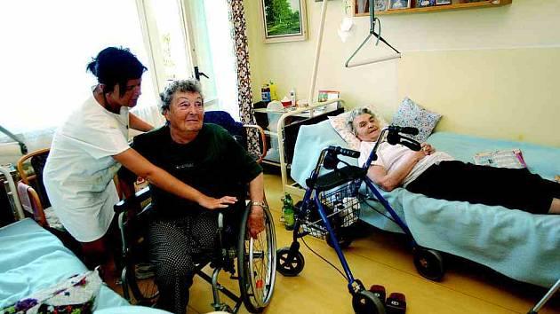 Soňa Třeslinová čeká už rok na samostatný pokoj, který bude jejím domovem.