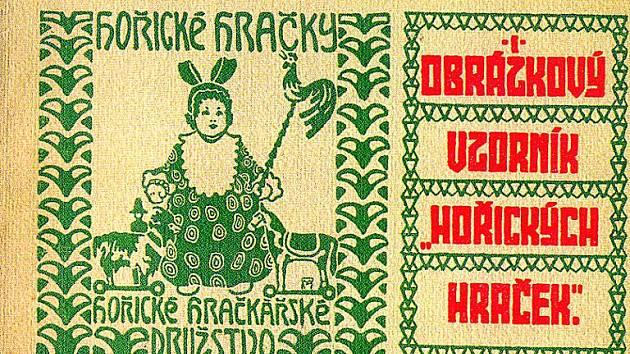 Vzorník hraček vyráběných v Hořicích z roku 1909.