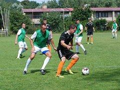 Přátelské fotbalové utkání v rámci letní přípravy.