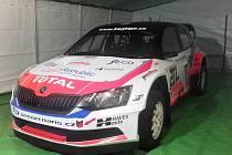 NOVÝ vůz jezdce Václava Fejfara, se kterým odstartoval do závodu mistrovství Evropy v Litvě.